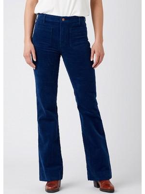 Pantalon Flair Velours